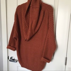 Sweaters - Chunky cowl neck sweater